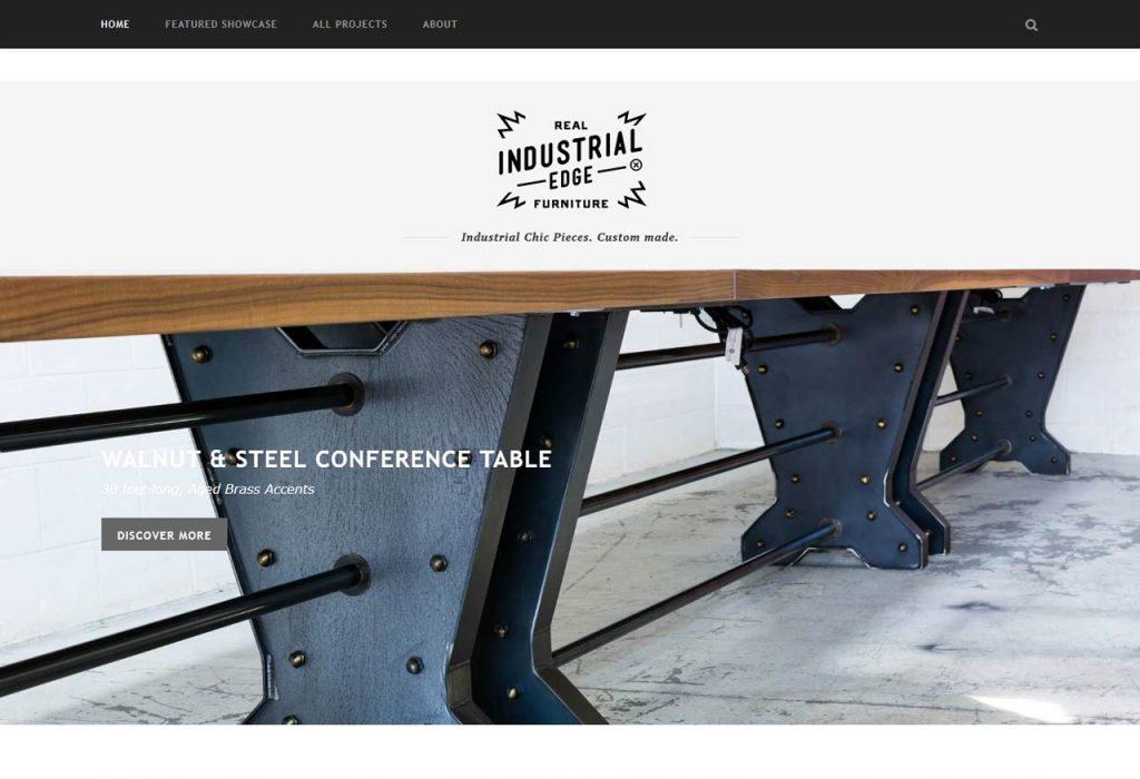 Custom-made Industrial Furniture (justinrealfurniture.com)