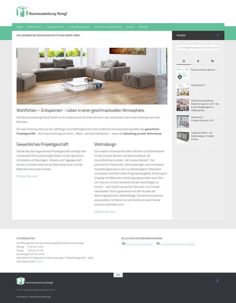Raumausstattung Rampf Munich-Hallbergmoos, Interior Design (raumausstattung-rampf.de)
