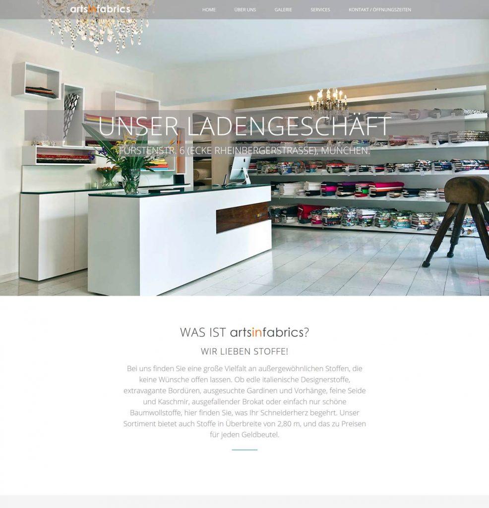 Fabrics / Retail Store in Munich (artsinfabrics.com)
